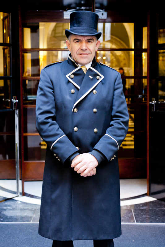 Tony Head Doorman in The Savoy  sc 1 st  Shintaro Works : savoy doorman - pezcame.com